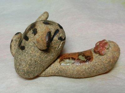 画像1: 猫パンチ箸置き
